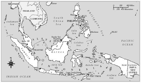 Indonesia, Malaysia, and the Philippines