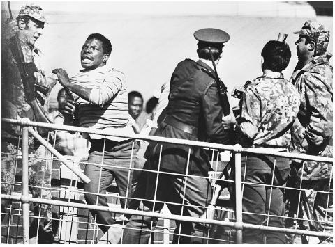 When high-school students in Soweto demonstrated on June 16, 1976, against a government ruling that had named Afrikaans as the language of education, the police responded with tear gas and gunfire. Over the course of several days, the demonstra