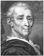 French philosopher Charles Montesquieu wrote of the importance of a checks and balances system in the mid-1700s. Four decades later, the Founding Fathers who wrote the Constitution were influenced by his writings. Library of Congress.