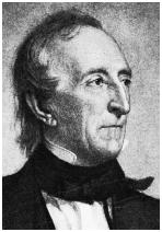 John Tyler became the first vice president to become president upon the death of his predecessor. When William Henry Harrison died in 1841, Tyler insisted that the Constitution allowed him to fill out the remainder of Harrisons term. Bettmann/