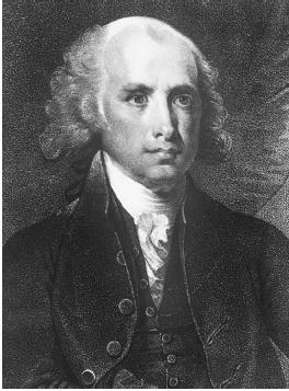 Secretary of State James Madison, a key figure in the Marbury v. Madison Supreme Court case. Library of Congress.