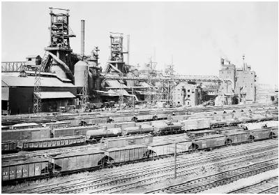The Youngstown Sheet Tube Co. in Youngstown, Ohio. This company filed suit against Secretary of Commerce Charles Sawyer in 1952, claiming that the U.S. government violated the Constitution by seizing private property without congressional auth