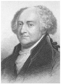 John Adams wrote of property as liberty in his Defence of the Constitutions of Government of the United States. Library of Congress.