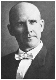 Eugene Debs, who was convicted under the Espionage Act of 1917 for inappropriate speech. Library of Congress.