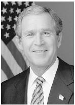 President George W. Bush did not use his veto power during his first term in office. The White House.