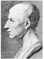 Roman statesman, lawyer, and scholar Marcus Tillius Cicero was a proponent of natural law, which is the idea that human laws must conform to a higher law, presumably from God.