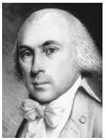 Secretary of State James Madison was a key figure in the Marbury v. Madison case.  Corbis.