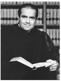 U.S. Supreme Court justice Antonin Scalia, who found himself involved in a 2003 controversy that included his friend, Vice President Dick Cheney. Supreme Court of the United States.