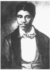 In Scott v. Sandford in 1857, the U.S. Supreme Court ruled that former slave Dred Scott (above) was not a citizen of the United States because African Americans could not be citizens under the U.S. Constitution.