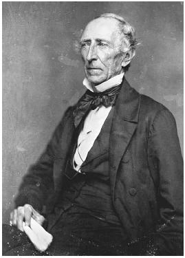President John Tyler holds the record for most Supreme Court nominations rejected or withdrawn: five (one man was nominated twice).  Corbis.