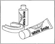 An example of teeth whitener.