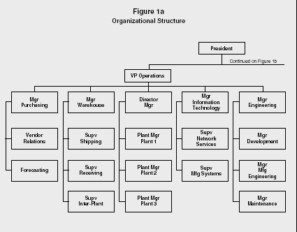 Figure 1a Organizational Structure