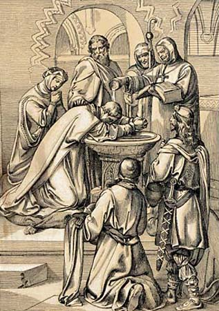 Baptism of King Aethelbert of Kent
