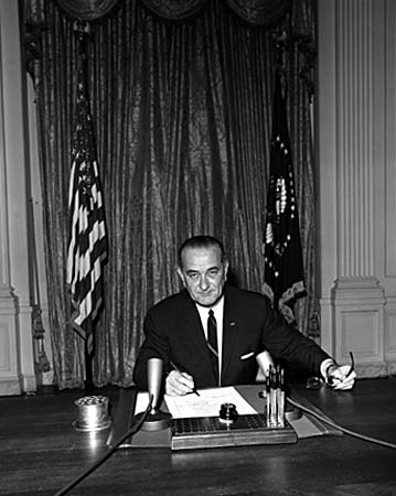 President Lyndon Johnson