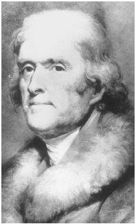 Thomas Jefferson first made the observation that church and state should be separated as if by a wall. Courtesy of the Library of Congress.