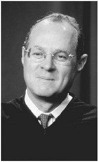 Associate Justice Anthony M. Kennedy. Reproduced by permission of Archive Photos, Inc.