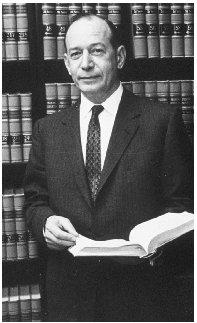 Associate Justice Abe Fortas. Reproduced by permission of Archive Photos, Inc.