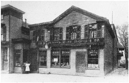 Lochners Home Bakery in New York. Courtesy of the Library of Congress.